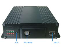 4G全网通/WiFi 双SD卡IP+模拟高清车载NVR
