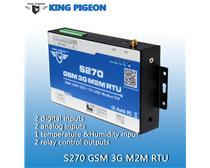 GSM模拟量采集 金鸽S270 继电器远程RTU控制报警终端