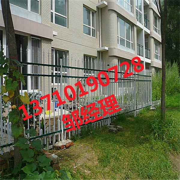深圳锌钢栅栏厂家 广东花园防护栏批发 中山仿木栏杆图片