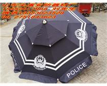 武警岗亭警察遮阳伞