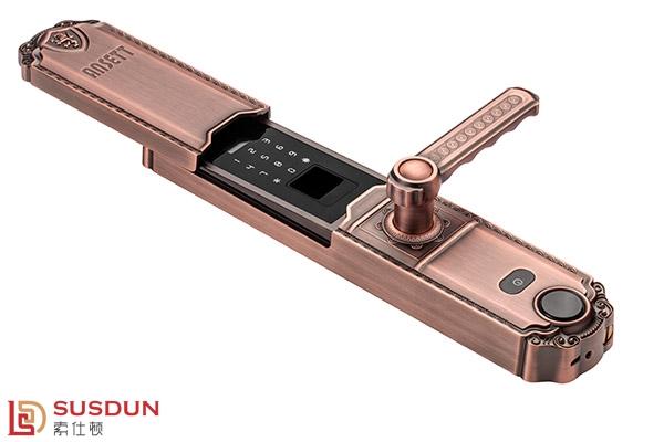 防盗门电动滑盖智能锁代理加盟多少钱  深圳指纹锁牌子哪个好-索仕顿