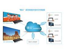 青云系列视频矩阵融合了与液晶拼接屏的联控方案