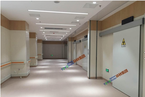 环林集团专注于射线防护门定制,中国防辐射门的专家