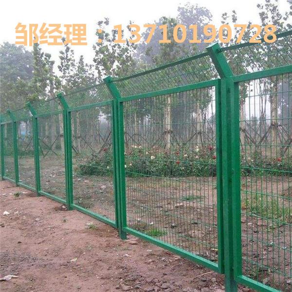 茂名沿河道路镀锌护栏网 梅州景区隔离网订做 广东防爬围栏批发
