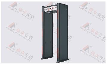 经济型数码金属探测门(安检门)