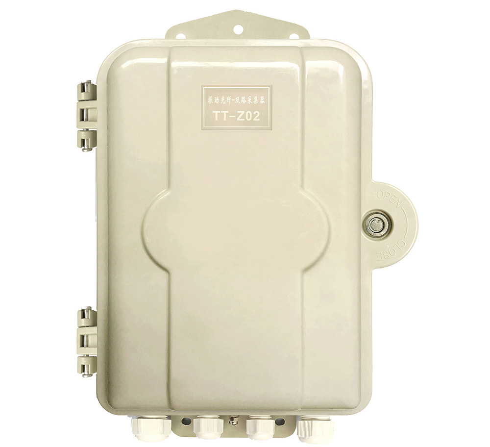 双防区振动光纤主机 拓天振动光纤周界报警系统