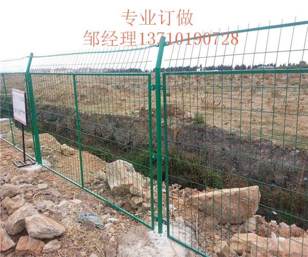 潮州坡地铁丝防护网 广州马路围栏网热销 东莞水塘荷兰网图片
