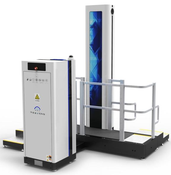 X光机-神枪微剂量单通道人体安检仪