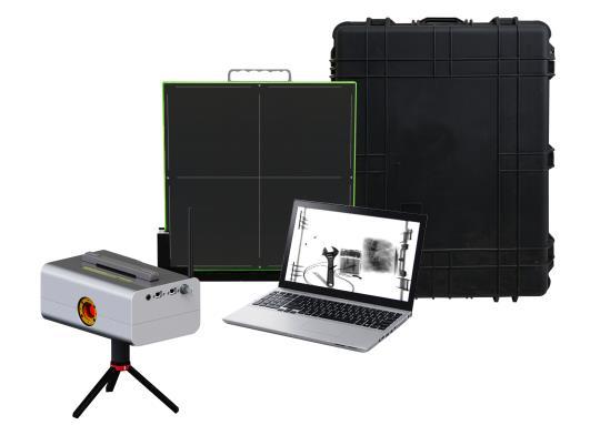 神枪超薄高清便携式X光机安检系统