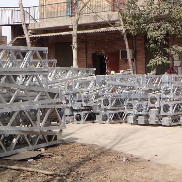 承装承修金属抱杆 资质升级立杆器 电力升级起杆机