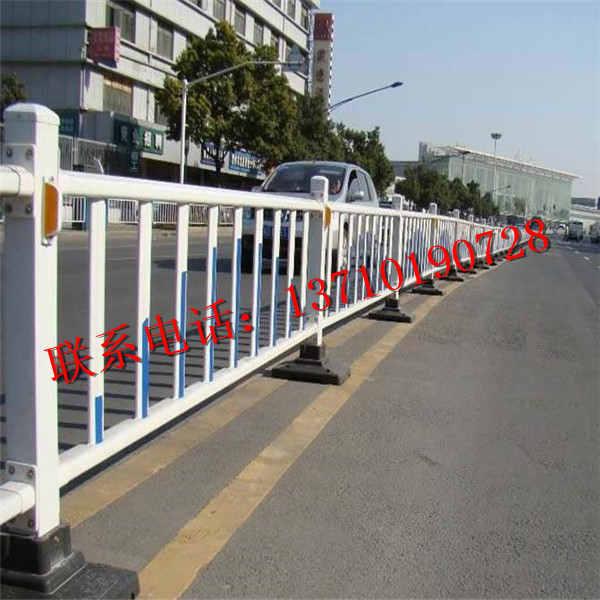 肇庆中央栏杆订做 广东市政防撞栏批发 潮州马路围栏厂家