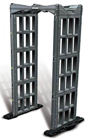 进口折叠金属安检门