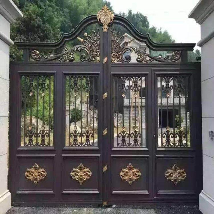 长治壶关县铝合金庭院大门锌钢绿化护栏定尺