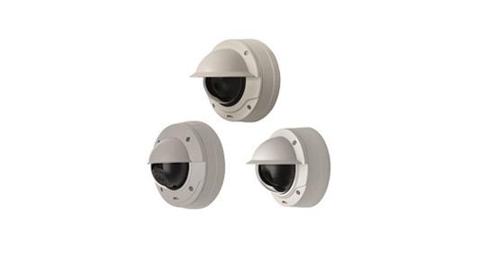 安讯士发布两个全新系列半球型网络摄像机