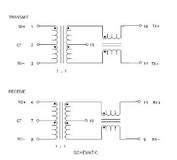 > h1102nlsop16贴片隔离滤波网络变压器 对应普思华强盛厂家直销