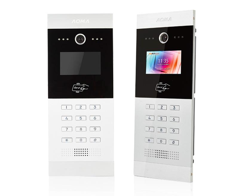 奥马- 奥马楼宇对讲系统h1可视编码主机