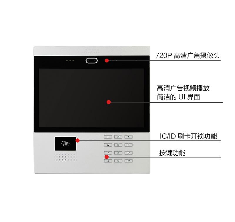 奥马- 奥马楼宇对讲系统q3壳可视编码主机